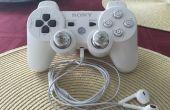 Ingebouwde hoofdtelefoon op PlayStation 3 controller