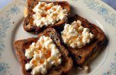 Rozijnen brood Franse Toast