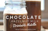 Hoe maak je melk chocolade hazelnoot | Drinkbaar Nutella