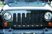 DIY Mesh Grill bewakers voor een Jeep Wrangler voor ongeveer $10