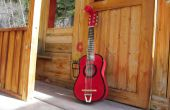 Kleine rode gitaar