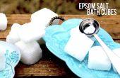Koolzuurhoudende Epsom Salt Bad kubussen
