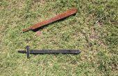 Eenvoudig houten zwaarden!