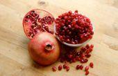 Hoe een granaatappel Deseed