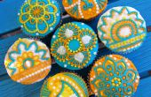 Gemakkelijk Henna Cupcakes