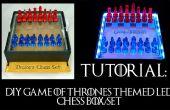 Spel van tronen thema LED Schaken vak