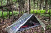 Ultralight duidelijk tarp tent (2P)