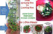 Van groeiende-pot te koken-pot