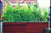 NYC Roof Garden Design - hedendaagse dek & plantenbakken