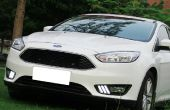 IJDMTOY Ford Focus LED Daytime Running Verlichting installeren