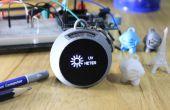 UV Meter & Breathalyzer sleutelhanger - 3D afgedrukt - IoT Blynk