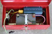 Een draagbare elektrobox voor fotografen