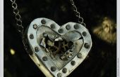 Steampunk hart ketting