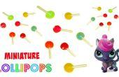DIY Miniature lollies