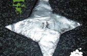 Papier mache ninja-ster/Shuriken best