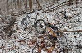 Fiets aanhangwagen modificatie voor Fat Bike