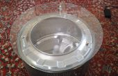Oude wasmachine Drum Coffe tabel