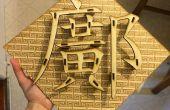 3D Laser gesneden Art