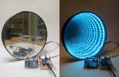 Arduino-controlled RGB LED Infinity spiegel