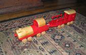 Bouwen van een speelgoed trein naar strijd voor What's Right