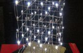 3D LED kubus van Chrismas boom lichten Charlieplex