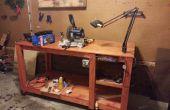 Aangepaste houten werkbank