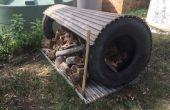 Land leven - houden van uw hout droog