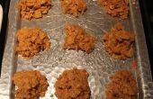 Pindakaas Cornflake Cookies!