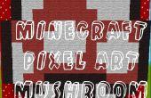 Minecraft Pixel paddestoel