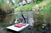 3D afgedrukt Swamp boat