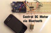 Arduino - besturingselement gelijkstroommotor via Bluetooth