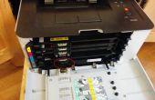 Samsung CLP-365w DIY Laser Printer Imaging Drum Unit reset