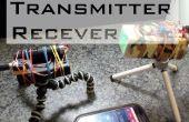 Laser Audio zender en ontvanger
