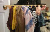 Verticale sjaal en stropdas Hanger