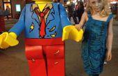 Zombie Lego Minifig kostuum