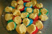 Regenboog geverfd Deviled eieren