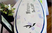 Surfplank gastenboek
