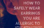 Hoe u allergisch bent voor oorbellen dragen!