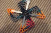 Lego en Knex ninja sterren