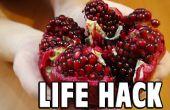Voedsel Lifehack: Hoe een granaatappel Deseed