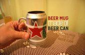 Bierpul van een bier kan