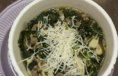 Tortellini boerenkool soep