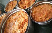 Huisgemaakte bewaarde Bhuna Masala voor jus groenten