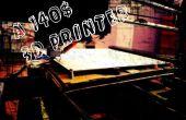 Een 140$ RepRap, draadloze 3D Printer - Boltz Megatiete