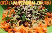 Ensalada Pelirroja Enojada - rauwe wortel salade