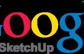 Omzetten van een ontwerp van Google Sketchup in DXF formaat
