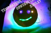 Tempy - een schattig temperatuur gecontroleerde Smiley