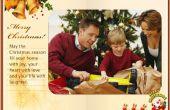 Hoe maak je een eCard kerst Flash