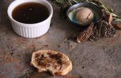 Porcini paddestoelen verduidelijkte boter/Ghee