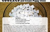Cookies en Cream pup chow